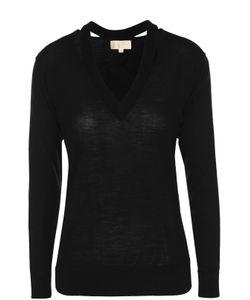 Michael Michael Kors | Шерстяной Пуловер С V-Образным Вырезом