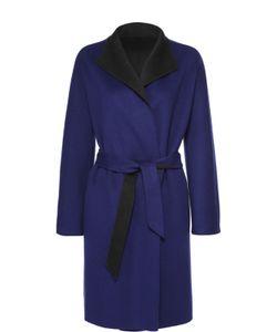 Armani Collezioni | Пальто Прямого Кроя С Укороченным Рукавом И Поясом