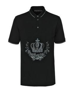 Dolce & Gabbana | Хлопковое Поло С Вышивкой