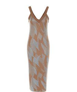 Tak.ori | Облегающее Вязаное Платье На Бретельках