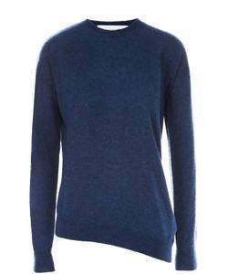 Stella Mccartney | Пуловер Асимметричного Кроя С Круглым Вырезом
