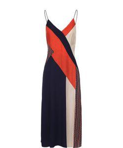 Diane Von Furstenberg | Шелковое Платье На Бретельках С Ярким Принтом