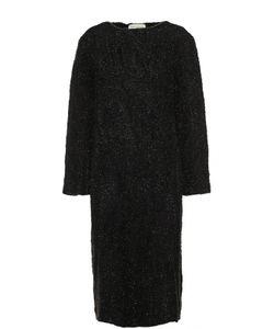 Dries Van Noten | Вязаное Платье Прямого Кроя С Декоративной Отделкой