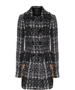 Dolce & Gabbana | Укороченное Пальто С Декоративной Отделкой