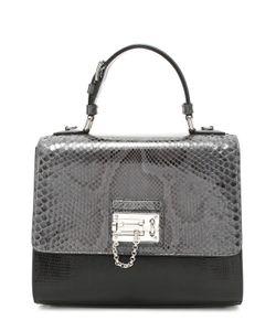 Dolce & Gabbana | Сумка Monica С Отделкой Из Кожи Питона