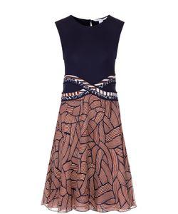 Diane Von Furstenberg | Приталенное Платье Без Рукавов С Ярким Принтом