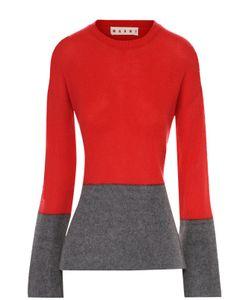 Marni | Приталенный Кашемировый Пуловер