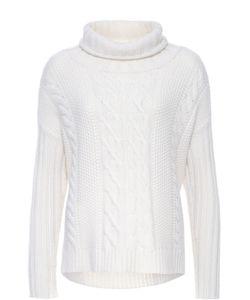 TSE | Кашемировый Пуловер Фактурной Вязки С Высоким Воротником