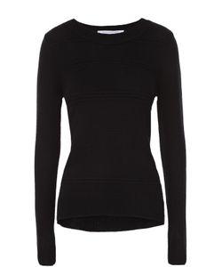 Diane Von Furstenberg | Пуловер Фактурной Вязки С Круглым Вырезом