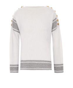 Alexander McQueen | Кашемировый Пуловер С Декоративной Отделкой