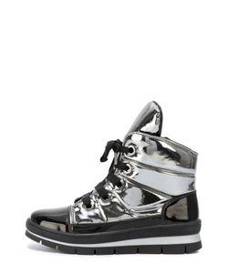 Jog Dog | Ботинки Из Металлизированной Кожи На Молнии