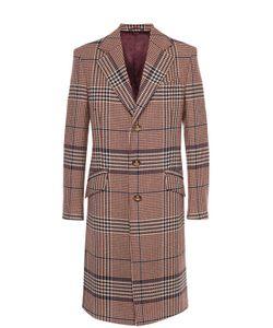 Vivienne Westwood | Шерстяное Однобортное Пальто В Клетку Prince Of Wales