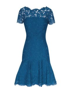 Diane Von Furstenberg | Кружевное Приталенное Мини-Платье