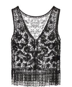 Polo Ralph Lauren | Топ С Вышивкой Бисером И Бахромой