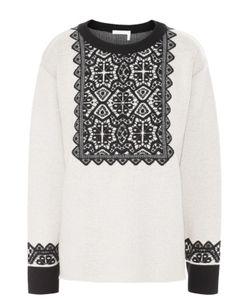 Chloe | Пуловер Прямого Кроя С Контрастной Отделкой Chloé