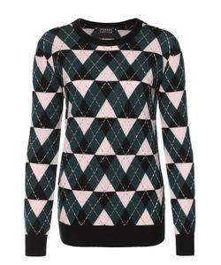 Markus Lupfer | Пуловер Прямого Кроя С Геометрическим Узором И Вышивкой