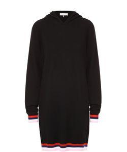 Emilio Pucci | Удлиненное Платье С Контрастной Отделкой И Капюшоном