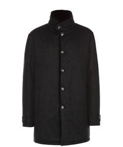 Andrea Campagna | Кашемировое Пальто С Подкладом Из Натурального Меха