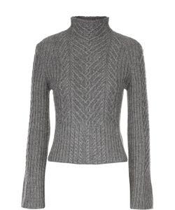 Polo Ralph Lauren | Укороченный Пуловер С Расклешенными Рукавами И Высоким Воротником