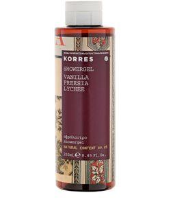 Korres | Гель Для Душа Vanilla Freesia Showergel