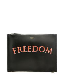Bertoni | Кожаный Футляр Для Документов С Надписью Freedom