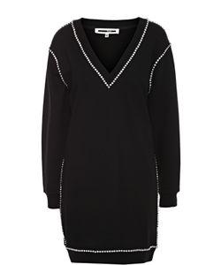 Mcq Alexander Mcqueen | Платье С V-Образным Вырезом И Контрастной Отделкой Mcq