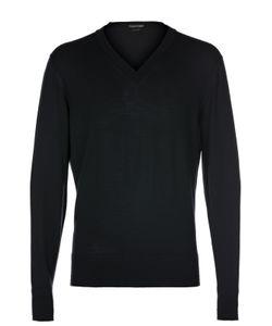 Tom Ford | Шерстяной Пуловер С V-Образным Вырезом