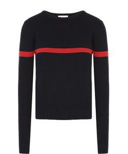 Moncler | Пуловер Фактурной Вязки С Контрастной Отделкой