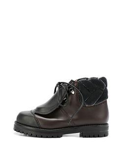 Marco De Vincenzo | Кожаные Ботинки Со Скрытой Шнуровкой