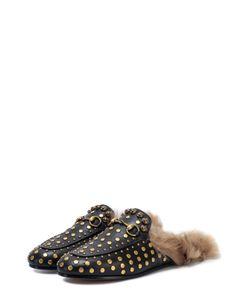 Gucci | Кожаные Сабо Princetown С Заклепками
