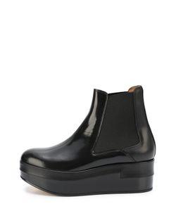 Maison Margiela | Кожаные Ботинки На Платформе
