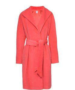 Armani Collezioni | Пальто Прямого Кроя С Широкими Лацканами И Поясом
