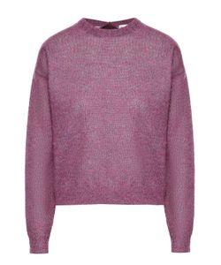 Moncler | Пуловер Прямого Кроя Со Спущенным Рукавом И Лентой На Спинке