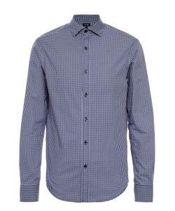 ARMANI JEANS | Хлопковая Рубашка С Воротником Кент