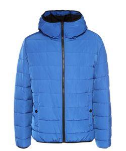 Moschino | Утепленная Куртка На Молнии С Капюшоном