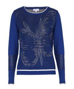 Escada Sport | Пуловер Фактурной Вязки С Контрастными Принтом