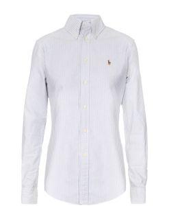 Polo Ralph Lauren | Хлопковая Блуза В Полоску С Вышитым Логотипом Бренда