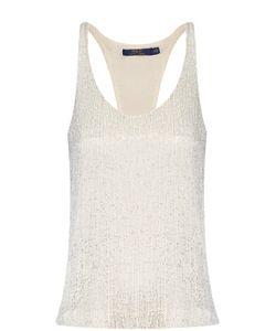 Polo Ralph Lauren | Топ Без Рукавов С Декоративной Вышивкой Бисером