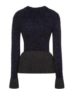 3.1 Phillip Lim | Пуловер С Баской И Металлизированной Отделкой