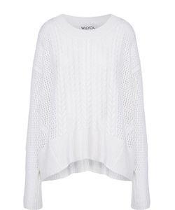 Wildfox | Кашемировый Пуловер Свободного Кроя С Круглым Вырезом