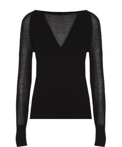 Escada | Пуловер С Длинным Рукавом И Полупрозрачными Вставками