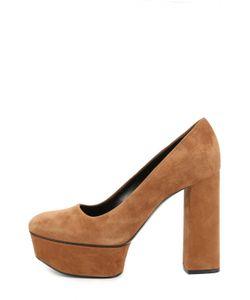 Casadei | Замшевые Туфли На Высоком Каблуке И Платформе