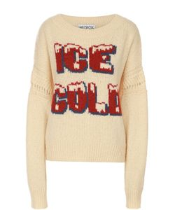 Wildfox | Пуловер С Удлиненным Рукавом И Контрастной Надписью