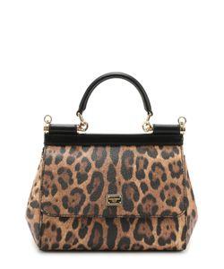 Dolce & Gabbana | Сумка Sicily Small С Леопардовым Принтом