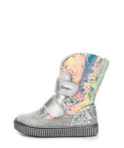 Missouri | Кожаные Ботинки Со Стразами