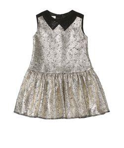 I Pinco Pallino | Платье Без Рукавов С Металлизированной Отделкой