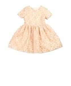 I Pinco Pallino | Приталенное Платье С Цветочной Вышивкой