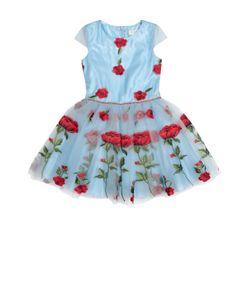 David Charles | Платье С Пышной Юбкой И Цветочной Вышивкой