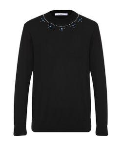 Givenchy | Шерстяной Джемпер С Декоративной Отделкой Заклепками