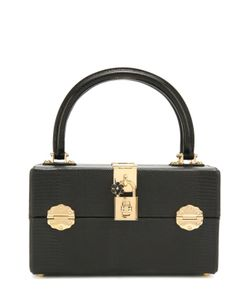 Dolce & Gabbana | Сумка Dolce Из Тисненой Кожи